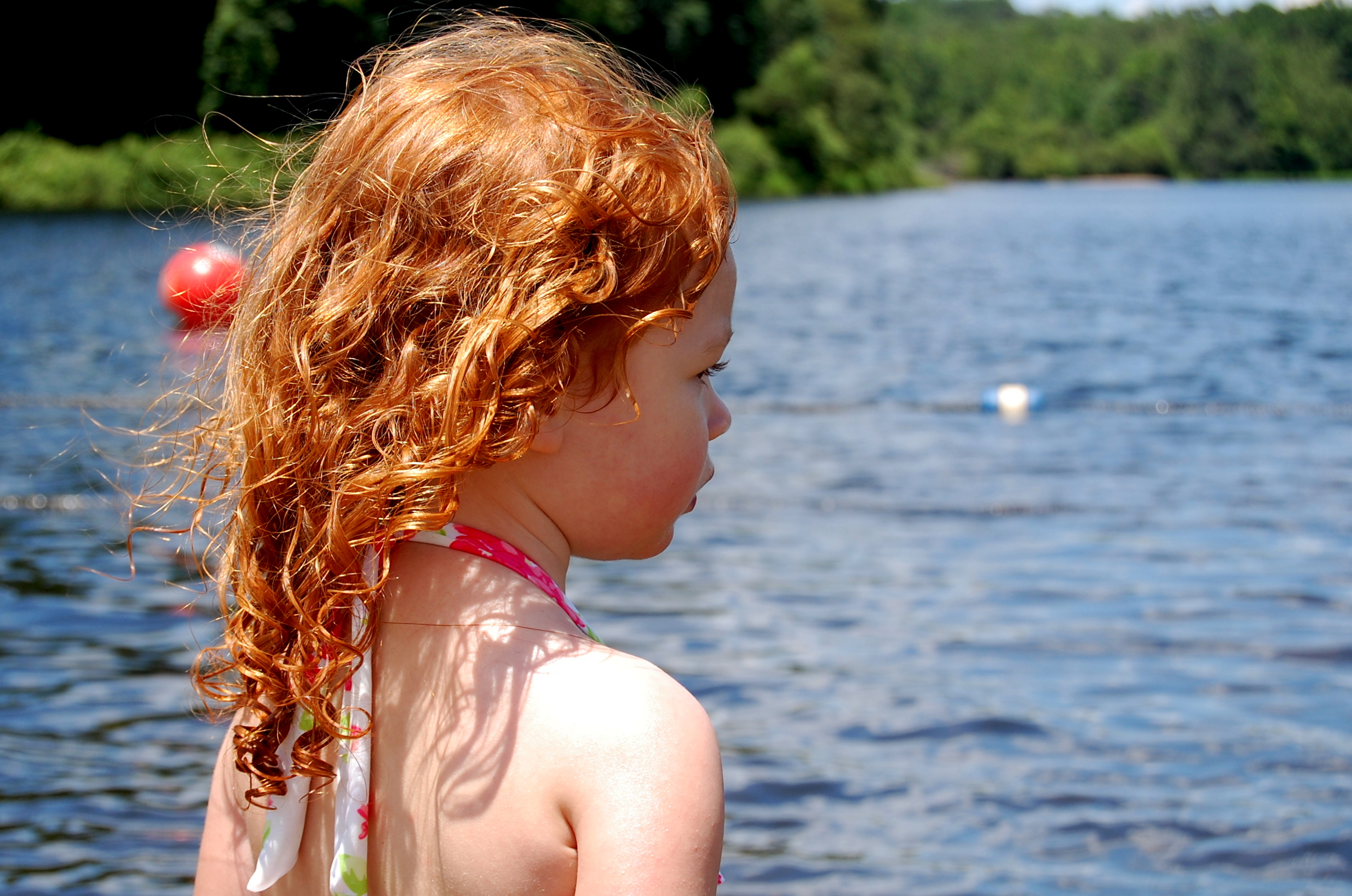 Redhead lake il body...!!! She